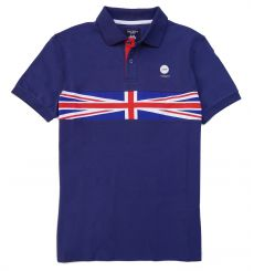 Polo Hackett HM561254 Azul
