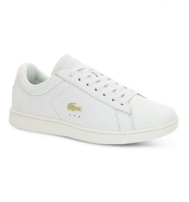 Lacoste Women's Carnaby Evo Textured Leather Trainers